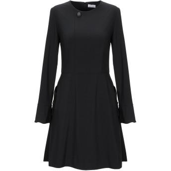 《セール開催中》ALEX VIDAL レディース ミニワンピース&ドレス ブラック 36 ポリエステル 92% / ポリウレタン 8%