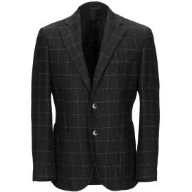 《期間限定セール開催中!》EDDY & BROS メンズ テーラードジャケット ダークブラウン 50 コットン 62% / ウール 26% / ナイロン 12%