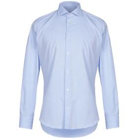 《セール開催中》ALESSANDRO BONI メンズ シャツ スカイブルー 39 コットン 100%