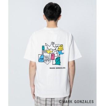 SENSE OF PLACE by URBAN RESEARCH / センスオブプレイス バイ アーバンリサーチ マークゴンザレスイラストTシャツ(5分袖)