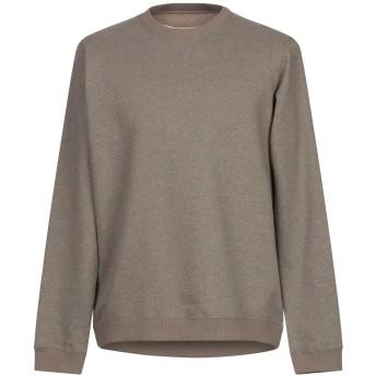 《セール開催中》ANERKJENDT メンズ スウェットシャツ ミリタリーグリーン M コットン 80% / ポリエステル 20%