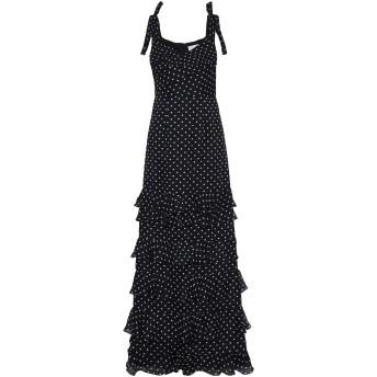 《セール開催中》MIKAEL AGHAL レディース ロングワンピース&ドレス ブラック 0 シルク 100%