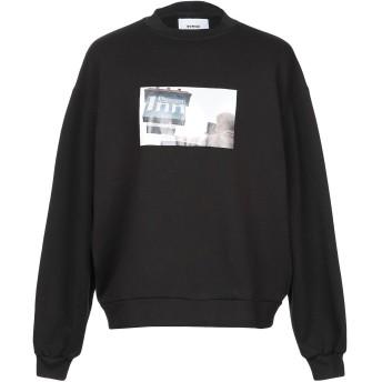 《9/20まで! 限定セール開催中》BONSAI メンズ スウェットシャツ ブラック M コットン 100%