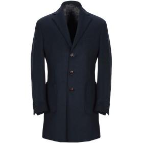 《期間限定セール開催中!》ALESSANDRO GILLES メンズ コート ダークブルー 48 ウール 75% / ナイロン 20% / カシミヤ 5%