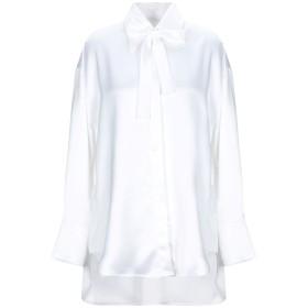 《期間限定セール開催中!》MSGM レディース シャツ ホワイト 38 ポリエステル 100%