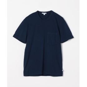 トゥモローランド コットン ポケット付きTシャツ MSX3349G メンズ 66ブルー 3(LL) 【TOMORROWLAND】