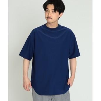 BEAMS / プレーティング 天竺 Tシャツ メンズ Tシャツ LT. NAVY S