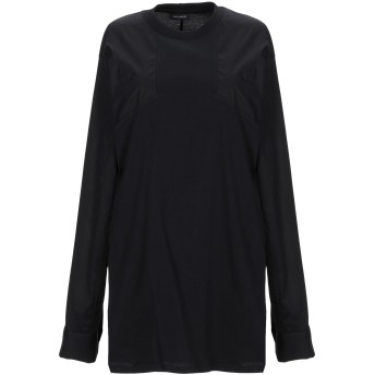 《セール開催中》YES LONDON レディース T シャツ ブラック S コットン 100%