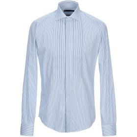 《期間限定セール開催中!》BRIAN DALES メンズ シャツ アジュールブルー 39 コットン 75% / ナイロン 22% / ポリウレタン 3%