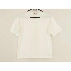 【中古】 ダックス DAKS 半袖Tシャツ レディース 白 刺繍