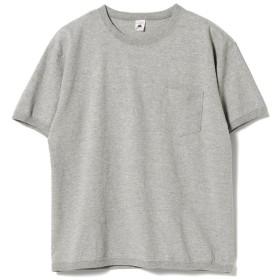 【30%OFF】 ビームス メン FRUIT OF THE LOOM × BEAMS / 別注 クルーTシャツ メンズ GREY L 【BEAMS MEN】 【セール開催中】