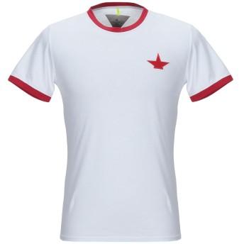 《期間限定セール開催中!》MACCHIA J メンズ T シャツ ホワイト S コットン 100%