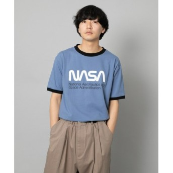 SENSE OF PLACE by URBAN RESEARCH / センスオブプレイス バイ アーバンリサーチ NASA 別注プリントTシャツ(5分袖)