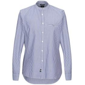 《期間限定セール開催中!》OFFICINA 36 メンズ シャツ ブルー S コットン 100%