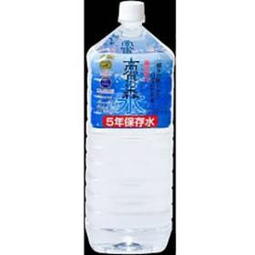 高賀の森水 5年保存水 2000ml 6本入り 2ケース