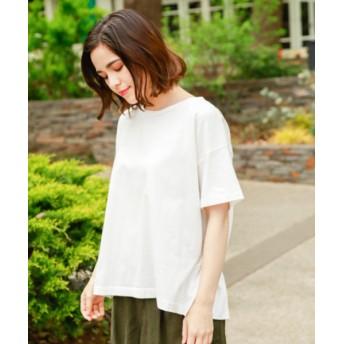 (niko and./ニコアンド)バックペプラムTシャツ/ [.st](ドットエスティ)公式