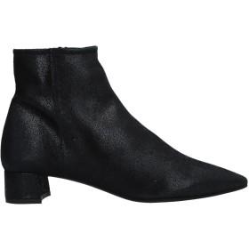 《セール開催中》DANIELE ANCARANI レディース ショートブーツ ブラック 35 革