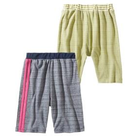 ジャガードハーフパンツ2枚組(男の子 子供服) パンツ