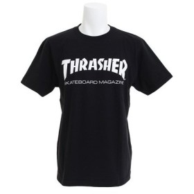 THRASHER 【オンライン特価】 MAGロゴ 半袖 Tシャツ TH8101BLK (Men's)