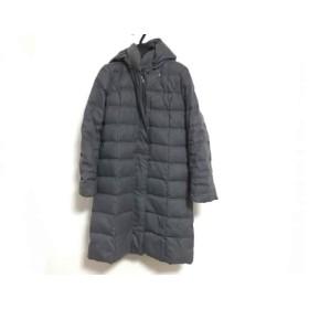 【中古】 ミッシェルクラン MICHELKLEIN ダウンコート サイズ38 M レディース グレー 冬物
