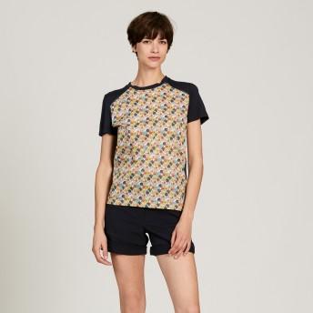 AIGLE レディース レディース リバーデ Tシャツ ZTFI081 DARK NAVY (001) Tシャツ