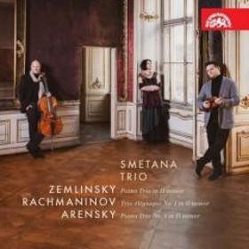 オムニバス(室内楽) / 『ピアノ三重奏曲集~ツェムリンスキー、ラフマニノフ、アレンスキー』 スメタナ・トリオ【CD】