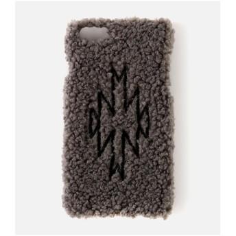 【50%OFF】 アズールバイマウジー ボアネイティブ刺繍スマホケース レディース GRY FREE 【AZUL BY MOUSSY】 【セール開催中】