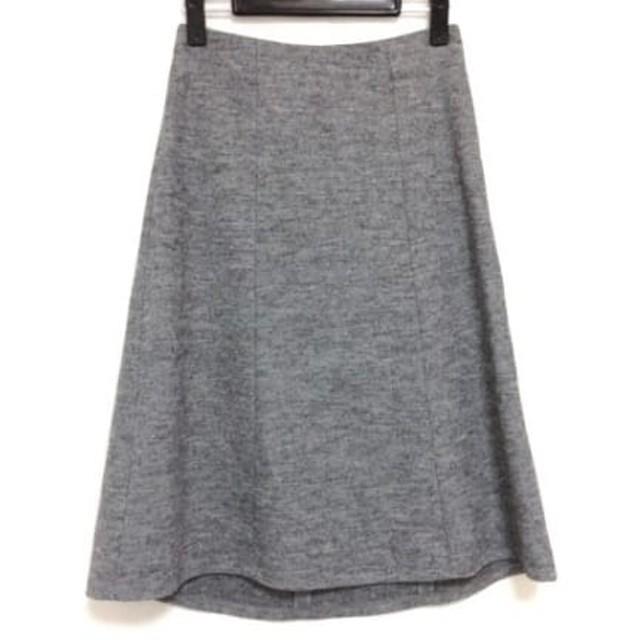 【中古】 アルマーニジーンズ ARMANIJEANS スカート サイズ36 S レディース グレー