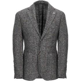 《期間限定セール開催中!》L.B.M. 1911 メンズ テーラードジャケット グレー 48 ポリエステル 70% / ウール 30%