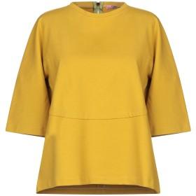 《セール開催中》ROSE' A POIS レディース T シャツ オークル 40 レーヨン 68% / ナイロン 27% / ポリウレタン 5%