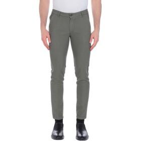 《期間限定 セール開催中》ONE SEVEN TWO メンズ パンツ ミリタリーグリーン 30 コットン 81% / ポリエステル 16% / ポリウレタン 3%