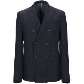 《セール開催中》EMPORIO ARMANI メンズ テーラードジャケット ダークブルー 50 ポリエステル 100%