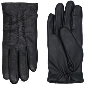 《期間限定セール開催中!》FRENCH CONNECTION レディース 手袋 ブラック S/M 革 100%