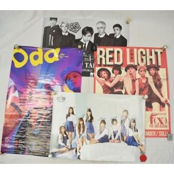 【中古品】Boys Republic&f(x)&OH MY GIRL&SHINee ポスター計4枚 約77cm×約52cm(Boys Republic)