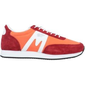 《期間限定 セール開催中》KARHU メンズ スニーカー&テニスシューズ(ローカット) オレンジ 6.5 紡績繊維 / 革