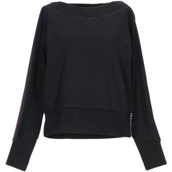 《セール開催中》BIKKEMBERGS レディース スウェットシャツ ブラック S コットン 94% / ナイロン 6% / ポリウレタン