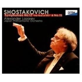 Shostakovich ショスタコービチ / 交響曲第12番『1917年』、第15番 アレクサンドル・ラザレフ&日本フィル 国内盤