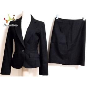 アールユー ru スカートスーツ サイズ1 S レディース 美品 黒   スペシャル特価 20190717
