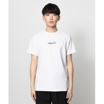 SENSE OF PLACE by URBAN RESEARCH / センスオブプレイス バイ アーバンリサーチ スクリプトロゴTシャツ(5分袖)