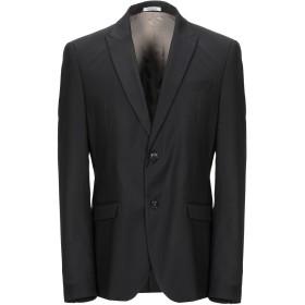 《セール開催中》OFFICINA 36 メンズ テーラードジャケット ブラック 52 ポリエステル 70% / レーヨン 28% / ポリウレタン 2%