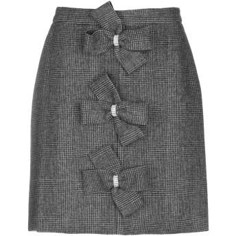 《9/20まで! 限定セール開催中》MANOUSH レディース ひざ丈スカート 鉛色 34 ウール 50% / ポリエステル 50%