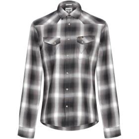 《セール開催中》WRANGLER メンズ シャツ スチールグレー S コットン 100%