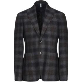 《セール開催中》DOMENICO TAGLIENTE メンズ テーラードジャケット 鉛色 46 ウール 55% / ポリエステル 45%