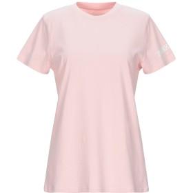 《9/20まで! 限定セール開催中》FRANKLIN & MARSHALL レディース T シャツ ライトピンク S コットン 100%