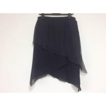 【中古】 エトロ ETRO スカート サイズ42 M レディース 黒