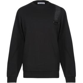 《期間限定セール開催中!》BIKKEMBERGS メンズ スウェットシャツ ブラック S コットン 100%