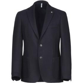 《期間限定セール開催中!》DOMENICO TAGLIENTE メンズ テーラードジャケット ダークブルー 52 バージンウール 100%