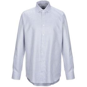 《期間限定セール開催中!》XACUS メンズ シャツ ホワイト 44 コットン 100%