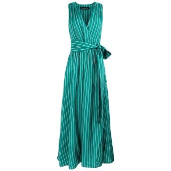 《セール開催中》DEPARTMENT 5 レディース ロングワンピース&ドレス エメラルドグリーン XS レーヨン 100% ABITO ORANGE