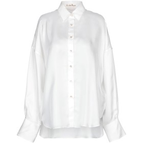 《9/20まで! 限定セール開催中》LE SARTE PETTEGOLE レディース シャツ ホワイト 46 シルク 100%